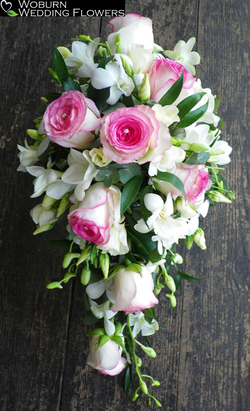 Rose and Freesia shower bouquet.